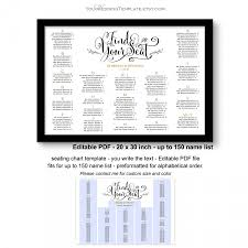 Your How To Guide To Create A Wedding Seating Chart Plus