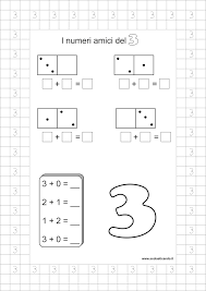 Classe Prima Matematica I Numeri Amici Schede Da Scaricare