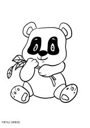 Disegni Di Panda Da Stampare E Colorare Gratis Portale Bambini