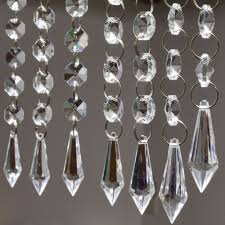 outstanding crystal chandelier whole 16 swarovski chandeliers industrial crystals plastic prisms bobeches and dishes c