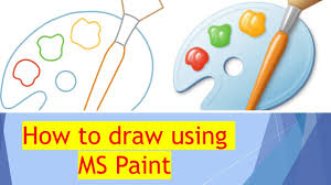 This wikihow teaches you how to add a dotted or dashed line anywhere on a microsoft word document. Microsoft Paint Drawing By Pranav How To Draw In Ms Paint Begin Ms Paint In Tamil Youtube
