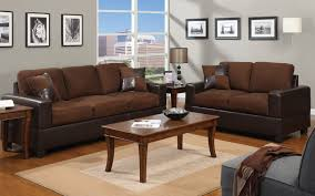 furniture mania. 2 piece modern microfiber and faux leather sofa, love seat livingroom set furniture mania i