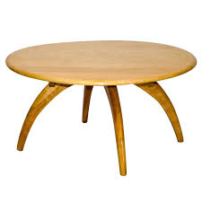 Round Lazy Susan Cocktail or Coffee Table by Heywood Wakefield For