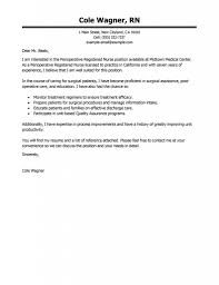 Graduate Cover Letter Examples New Grad Rn Cover Letter New Grad Registered Nurse Cover Letter