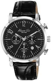 kenneth cole mens silver 10020826 watch watchco com