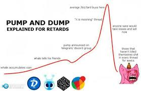 Image result for PUMP AND DUMP