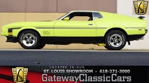 7126 1972 Ford Mustang Mach 1 - Gateway Classic Cars of St. Louis ...