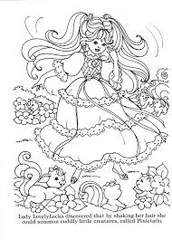 Lady Lovely Locks Coloring Book Lady Lovely Locks The Begining
