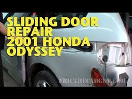 sliding door repair 2001 honda odyssey ericthecarguy sliding door repair 2001 honda odyssey ericthecarguy