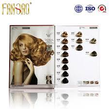 China 64 Colors High Quality Hair Color Shade Chart China