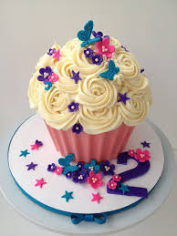 I Made This Giant Cupcake Using The Tutorial Found Here By Mrsvb78