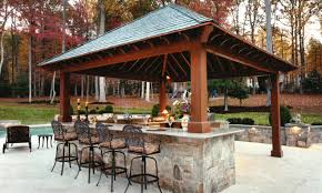 ground level deck with pergola inspirational gazebo outdoor kitchen new outdoor kitchen with bar design tool