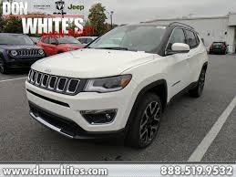 2018 jeep compass white. plain white 2018 jeep compass limited in cockeysville md  don whiteu0027s timonium  chrysler dodge ram to jeep compass white d