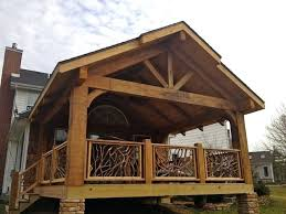 covered deck ideas. Covered Deck Cedar Timber Ideas Plans K