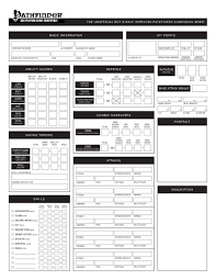 best pathfinder character sheet you ll ever use the improved pathfinder animal companion sheet rachel sandene
