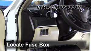 interior fuse box location 2009 2014 acura tl 2012 acura tl 3 5l v6