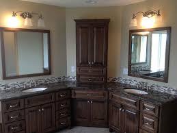 impressive corner bath vanity cabinet mytechref in corner bathroom vanity cabinets popular
