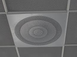 Ceiling air diffuser / square - PIL