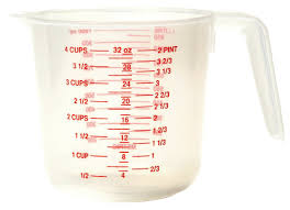 4 Cup Plastic Measuring Cup