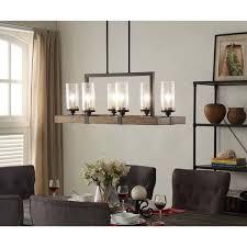 arturo 8 light rectangular chandelier