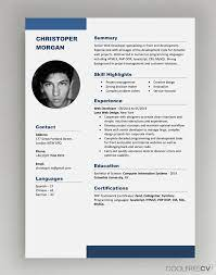 Find different kinds of free cv templates to download and start writing your own! Cv Resume Templates Examples Doc Word Download