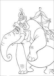 Immagini Da Colorare Aladdin 12