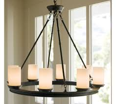 pottery barn candle chandelier image antique and