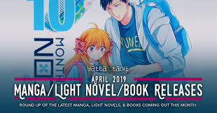 New Light Novels 2019 April 2019 Manga Light Novel Book Releases Yatta Tachi