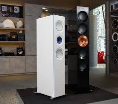 kef home speakers. kef the reference 5 speakers copper black aluminium kef home