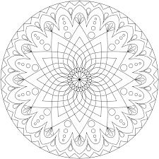 Free Printable Mandalas Coloring Pages Adults Printable 360 Degree