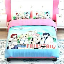 japanese style bedding sets bedding sets fairy tail printed bedding set girls photo 3 of