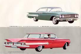 1960 Chevrolet Brochure - xFrameChevy.com