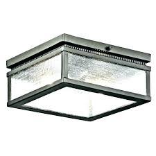 led motion sensor outdoor ceiling light nice lights bronze 2 bulb semi flush outdo