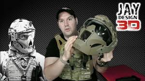 Jay Design Fast Mask Jay Design 3d Fast Mask Airsoft Review En Español Hd 1080p