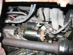 how to change the starter in your s series saturn saturn forum i found it and know why the car wasn t starting it s kind of hard to see i the pictures because a lot of them are blurry due to how close i was