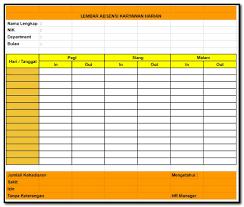 Temukan bagian untuk daftar tugas, catatan pribadi, dan pengingat. Contoh Format Lembar Absensi Karyawan Harian Manual Tips Kerja