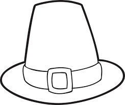 Small Picture FREE Printable Pilgrim Hat Coloring Page For Kids Thanksgiving