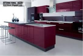modern kitchens 2014. Purple Kitchen Sets And Cabinets 2014 Modern Kitchens