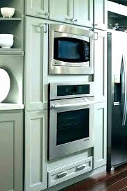 in wall microwave oven combo double with built convection under and whirlpool white ice