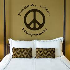 Peace And Love Quotes New Peace Love Happiness Quotes Wall Decals