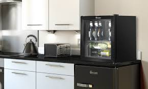 glass front fridge. Swan Glass Front Fridge Groupon Goods In Inspirations 15 R