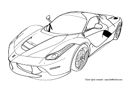 Cars Coloring Page Lamborghini Countach Doors Open Pages Of