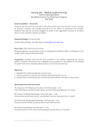 Nurse Tech Resume Objective For Resume Nursing