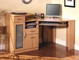glass corner office desk. Astounding Corner Office Desk Ideas Using Black Oak Wood Intended For Glass Contemporary Essentials C