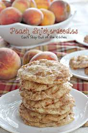 Peach Kitchen Peach Snickerdoodles Cant Stay Out Of The Kitchen