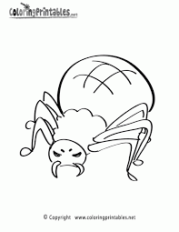 Small Picture Coloring Pages Spiders Coloring Pages Free Coloring Pages Spider