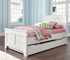 image of nice twin bed with trundle