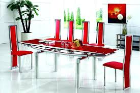 modern glass dining room tables modern glass dining table excellent ideas modern extendable dining table awesome modern glass