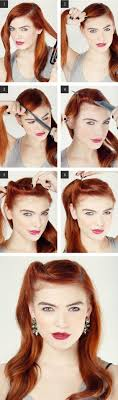 Retro Hair Style Best 25 Retro Hairstyles Ideas Vintage Hair Easy 2963 by wearticles.com