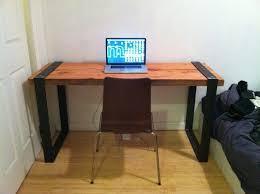 minimalist modern industrial office desk dining. Diy Wood Office Desk Delectable Family Room Picture New At Design Minimalist Modern Industrial Dining